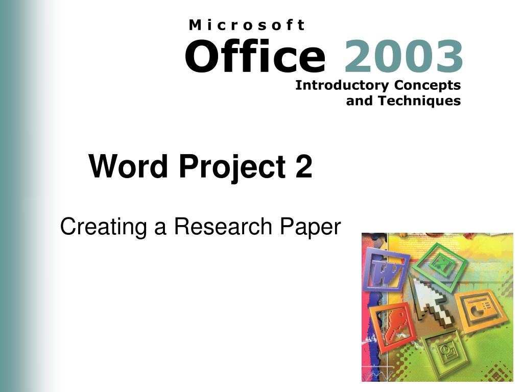 Word Project 2