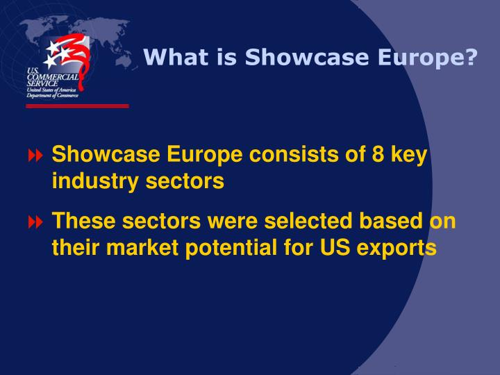 What is Showcase Europe?