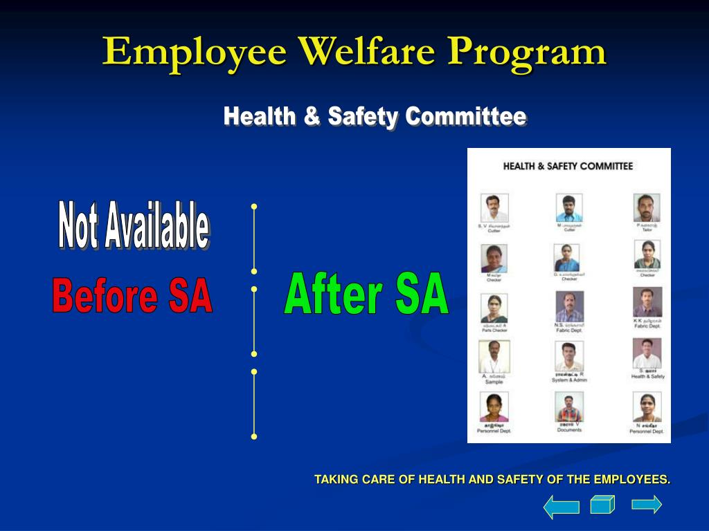Employee Welfare Program
