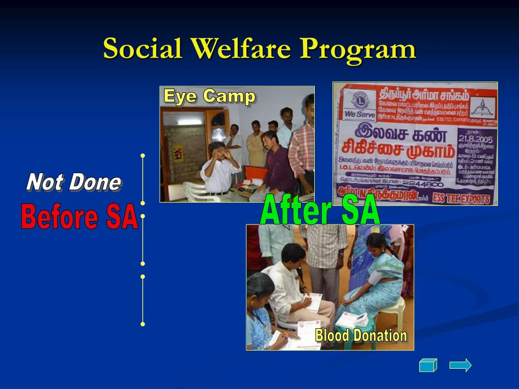 Social Welfare Program