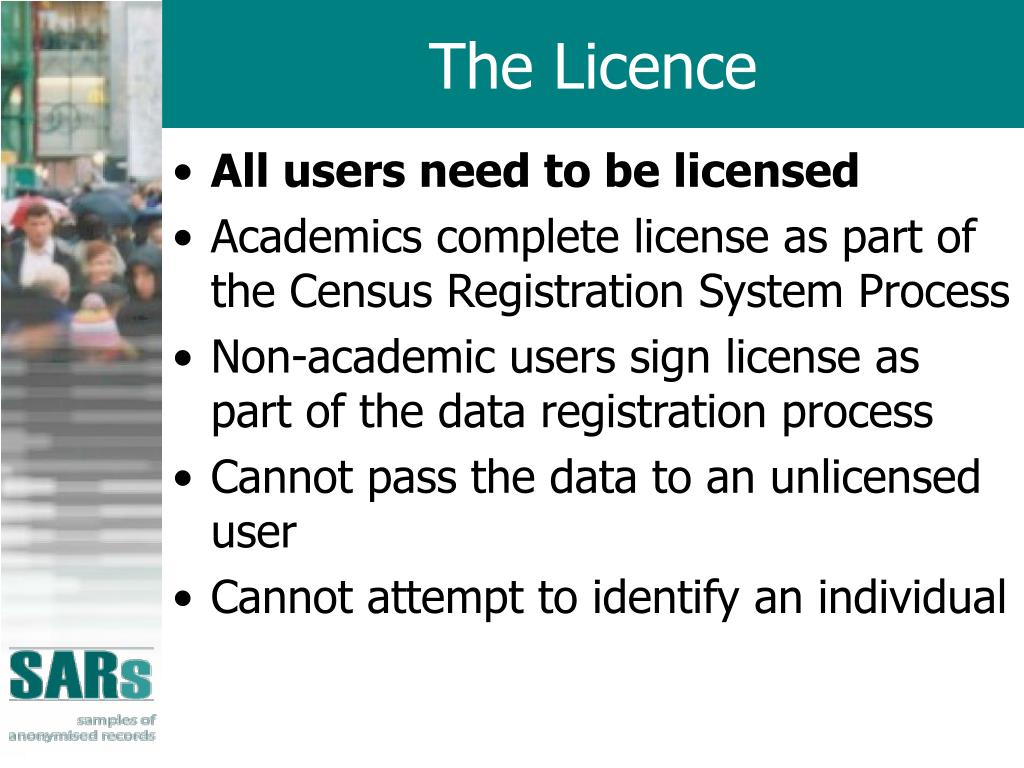 The Licence