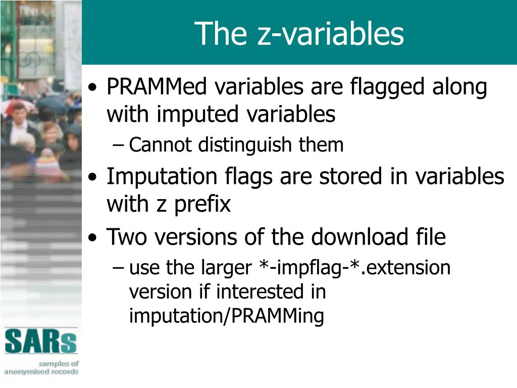 The z-variables