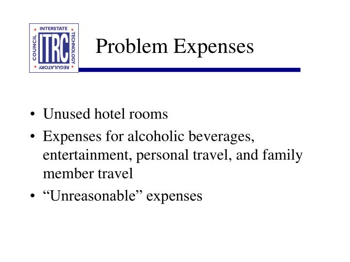 Problem Expenses