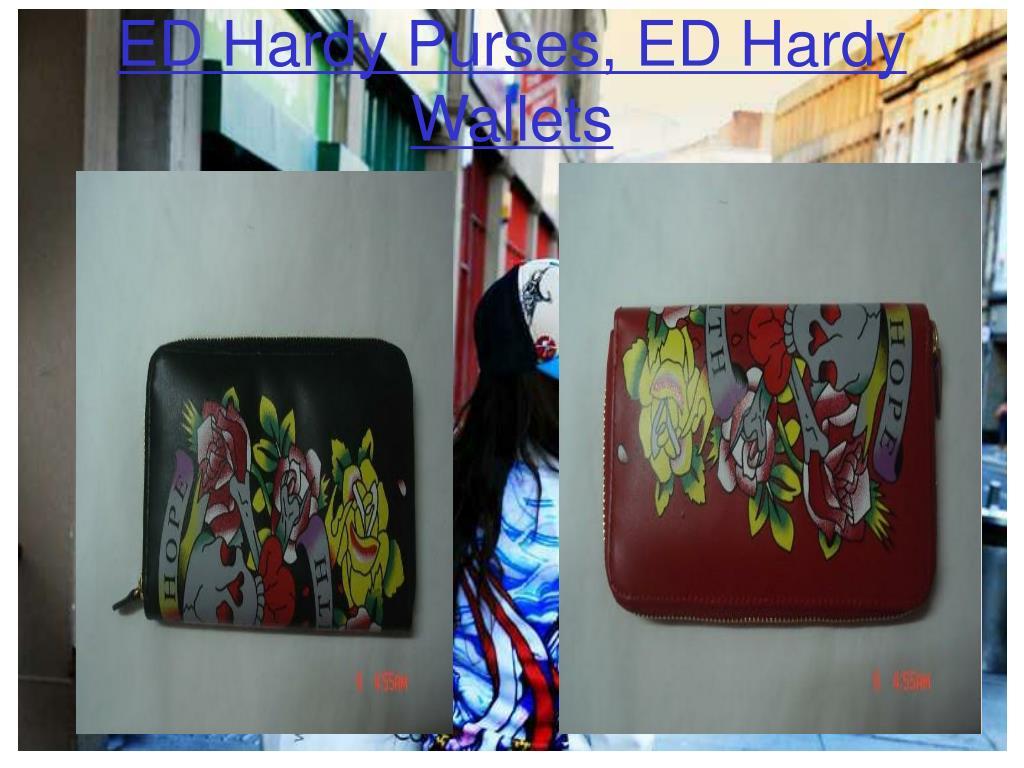 ED Hardy Purses, ED Hardy Wallets