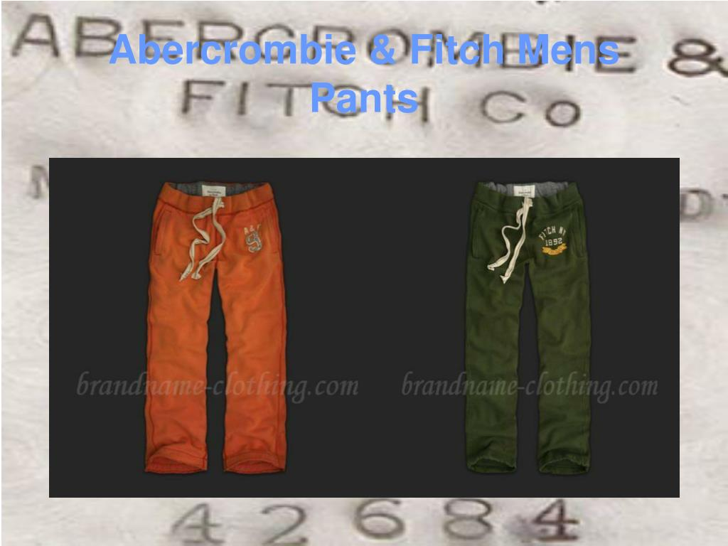 Abercrombie & Fitch Mens Pants