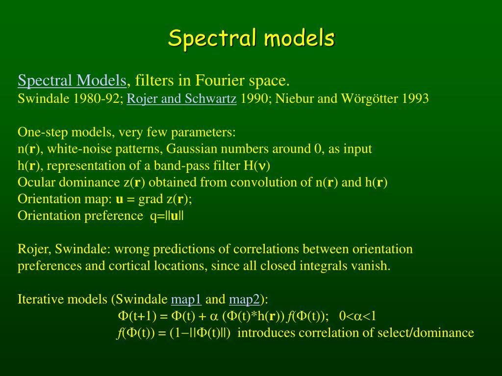 Spectral models