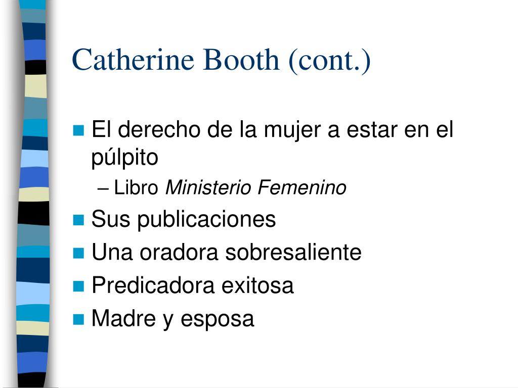 Catherine Booth (cont.)