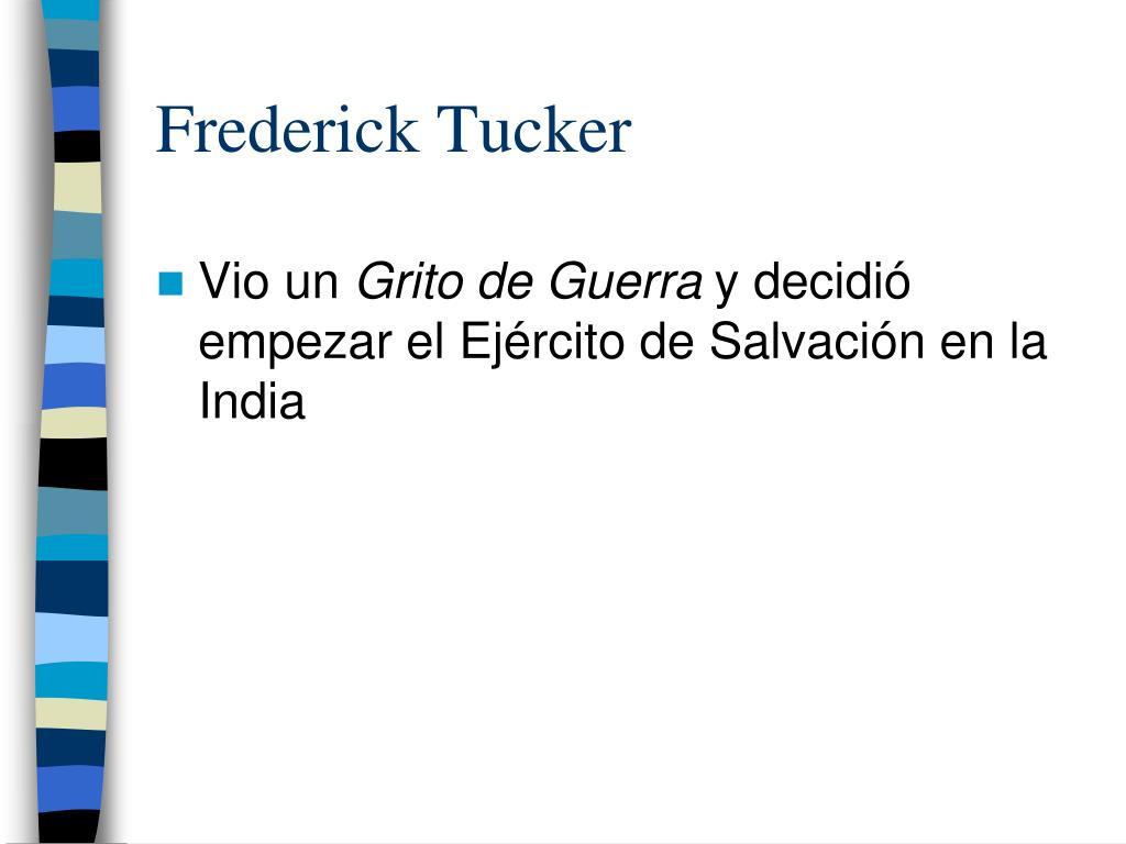 Frederick Tucker