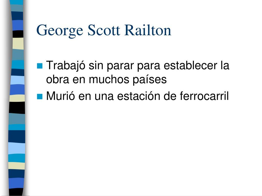 George Scott Railton