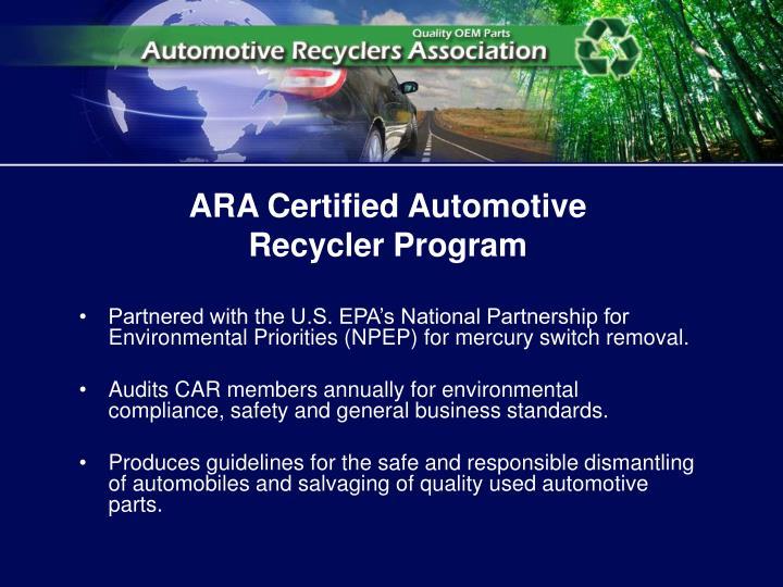 ARA Certified Automotive