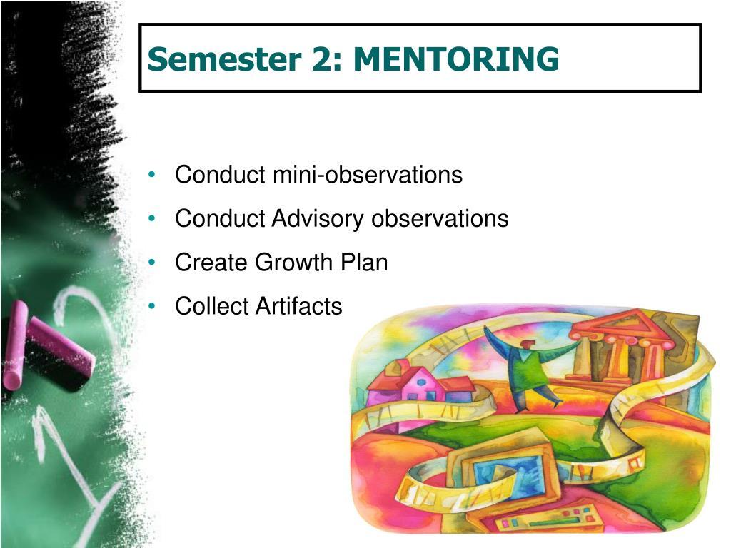 Semester 2: MENTORING