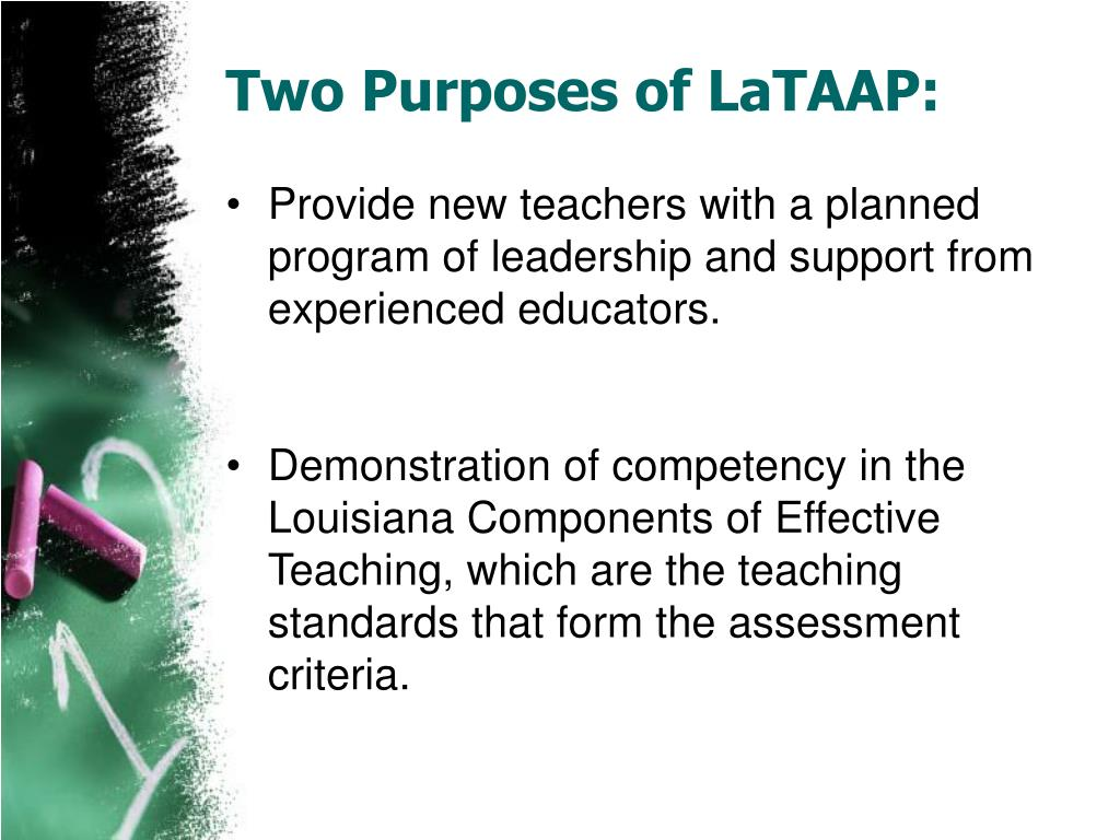 Two Purposes of LaTAAP: