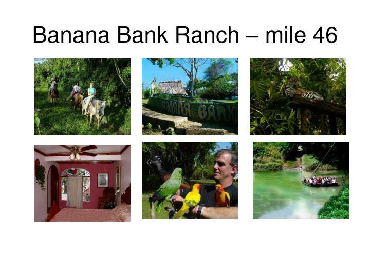 Banana Bank Ranch – mile 46