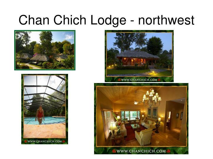 Chan Chich Lodge - northwest