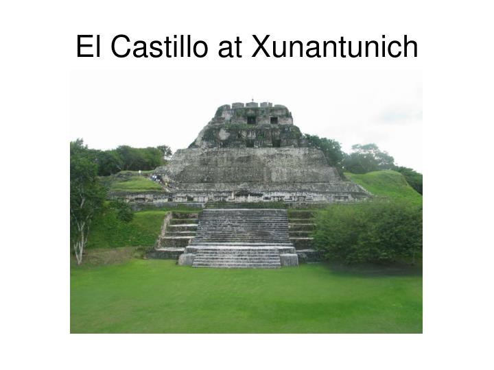 El Castillo at Xunantunich