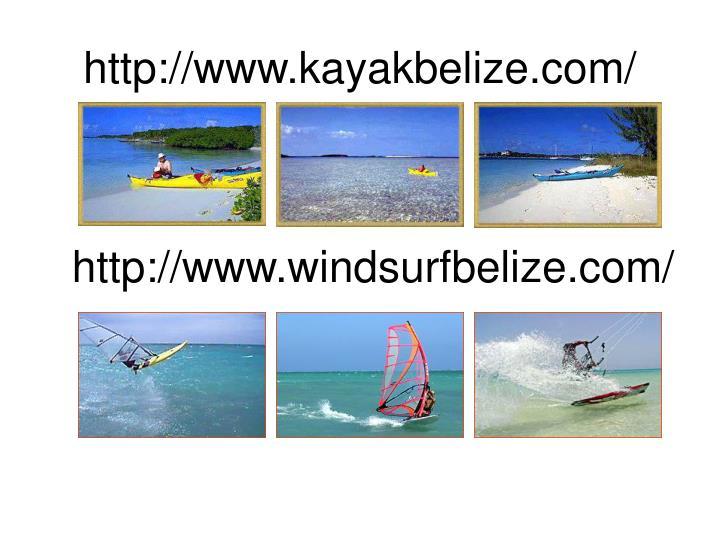 http://www.kayakbelize.com/