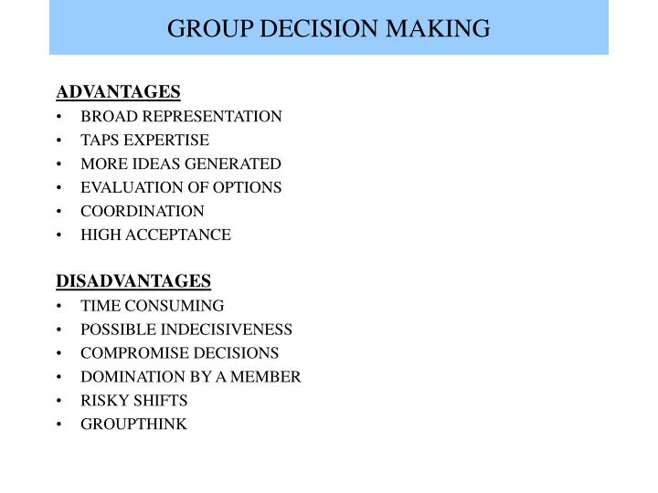 Group decision making l.jpg