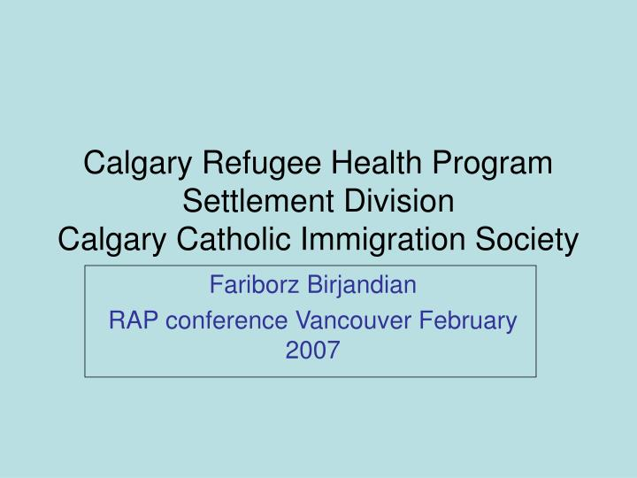 Calgary refugee health program settlement division calgary catholic immigration society l.jpg
