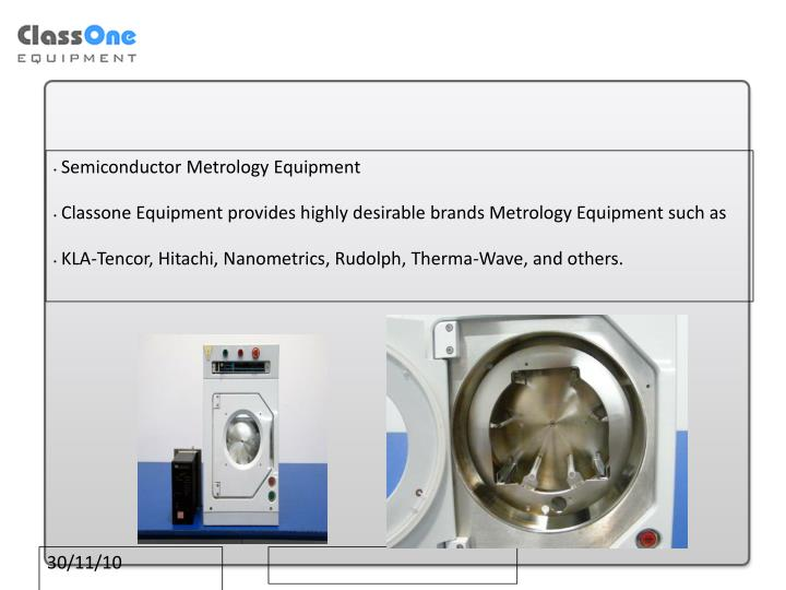 Semiconductor Metrology Equipment