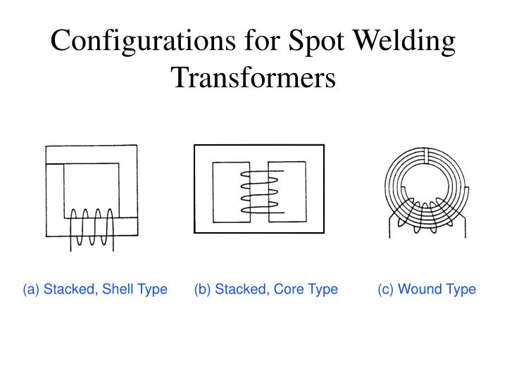 Configurations for Spot Welding Transformers