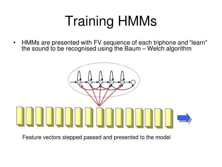 Training HMMs