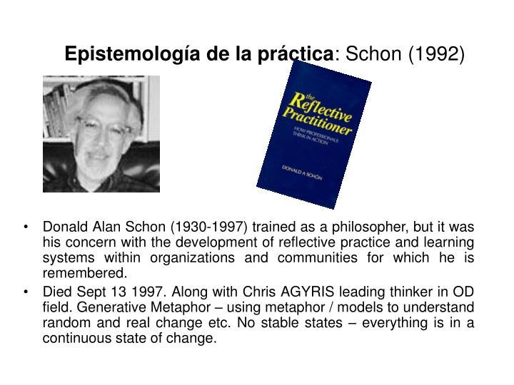 Epistemología de la práctica