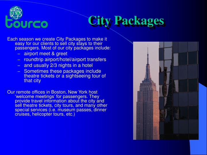 City Packages