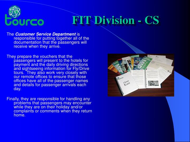 FIT Division - CS