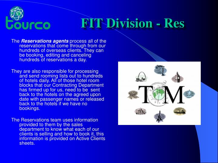 FIT Division - Res