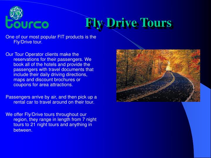 Fly Drive Tours