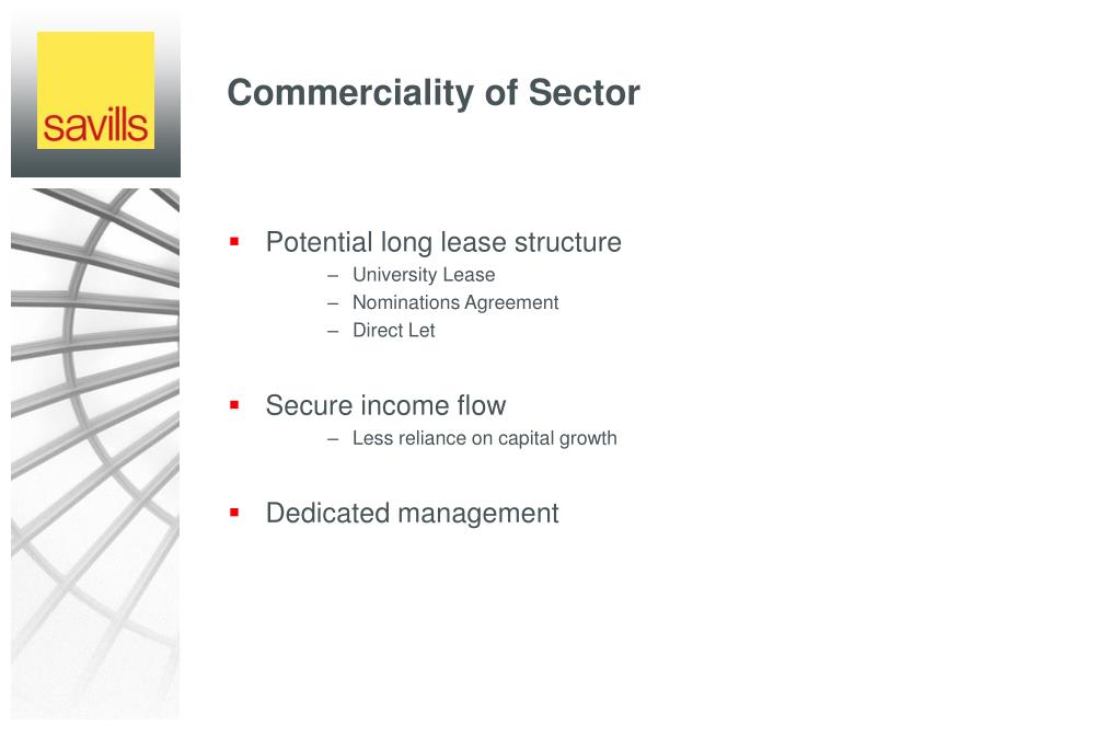 Commerciality of Sector