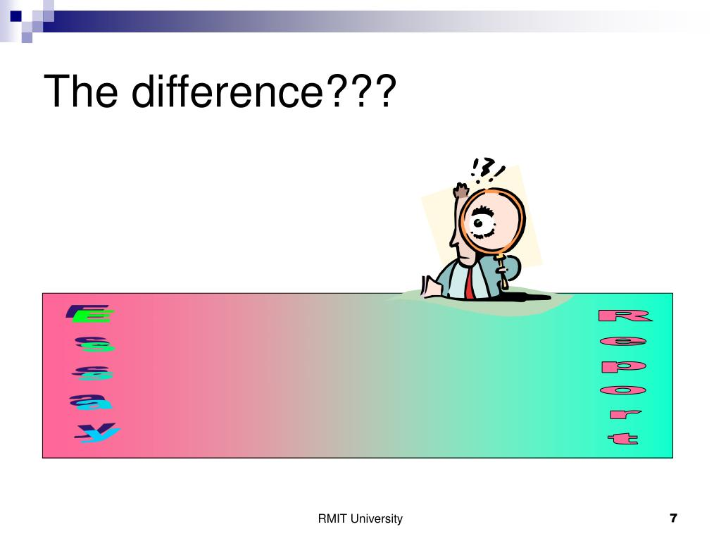 The difference???