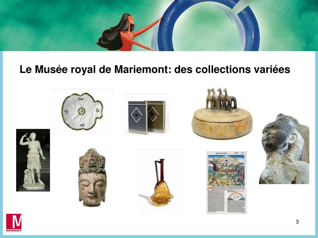 Le Musée royal de Mariemont: des c
