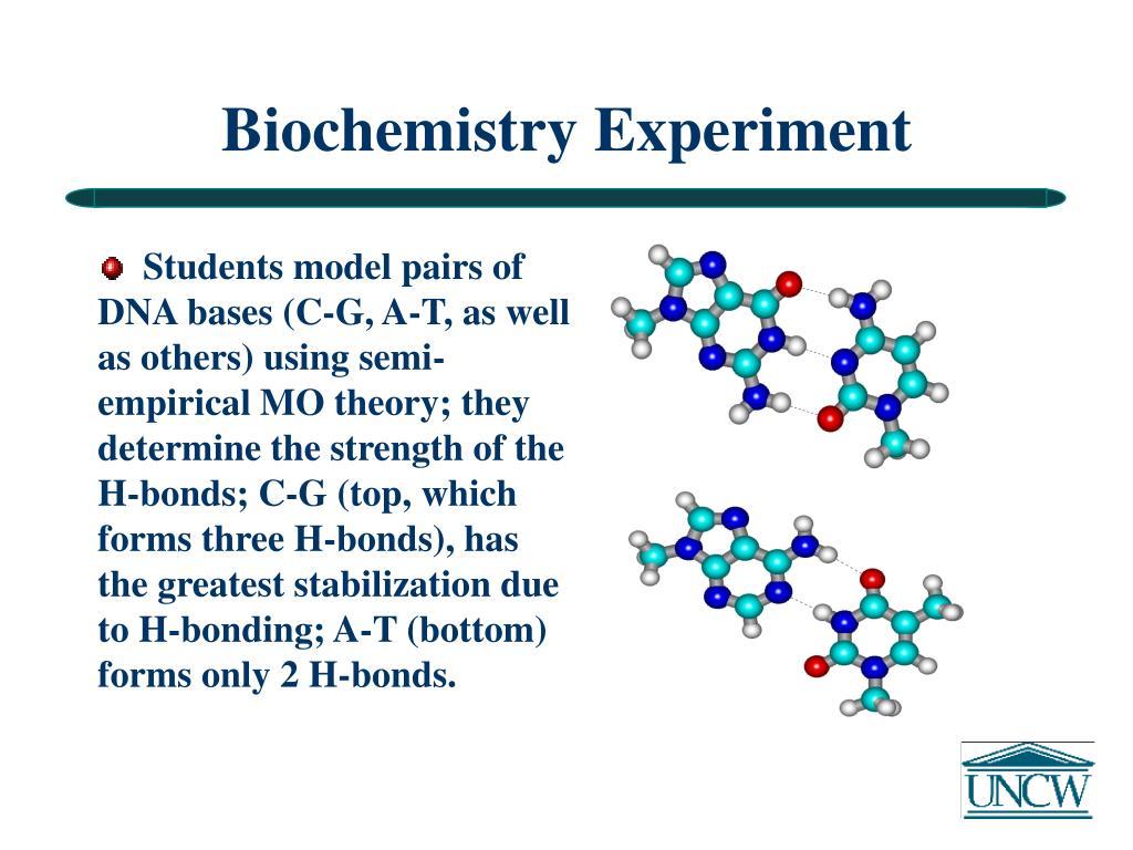 Biochemistry Experiment