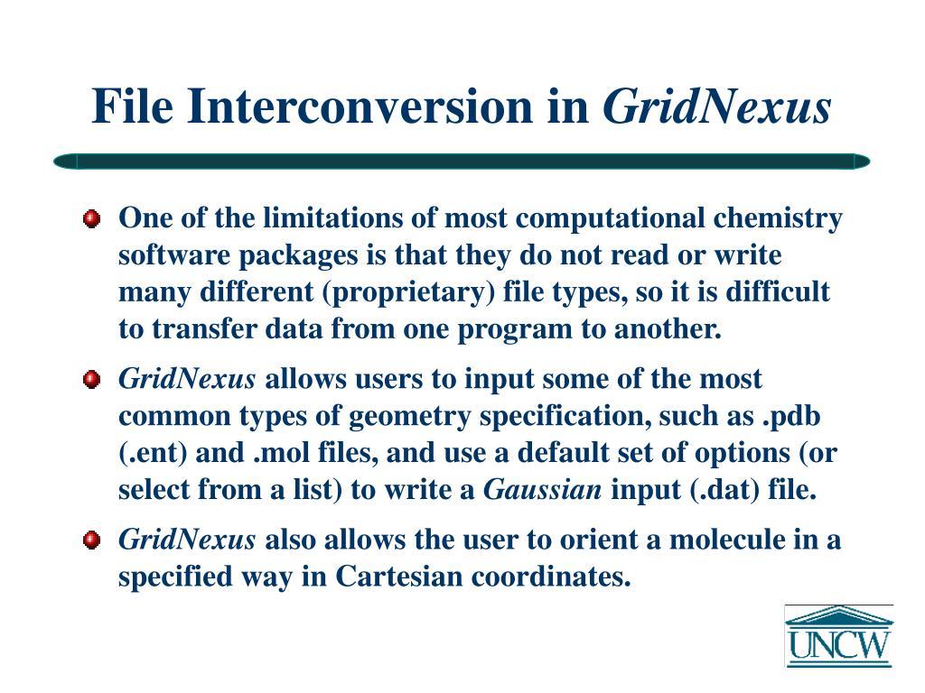 File Interconversion in