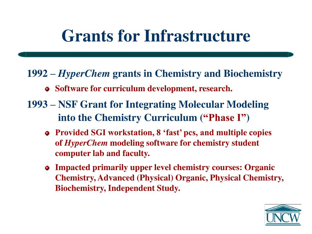 Grants for Infrastructure