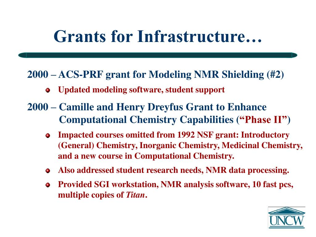 Grants for Infrastructure…