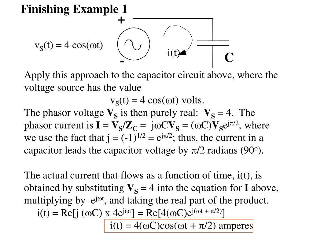 Finishing Example 1