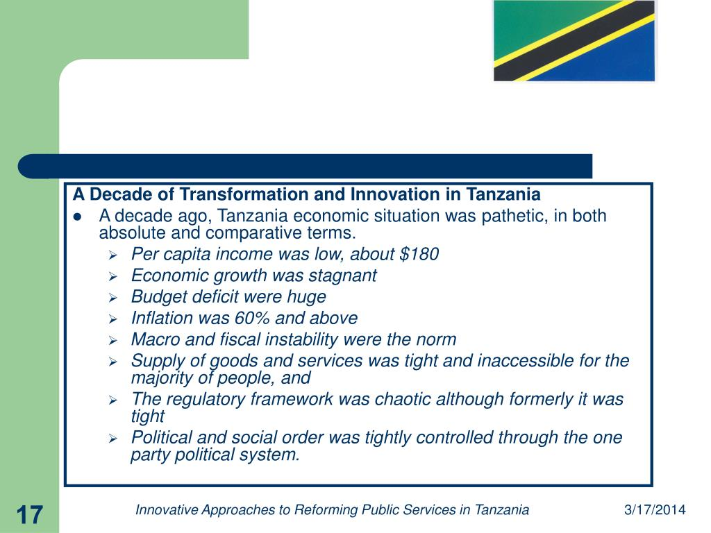 A Decade of Transformation and Innovation in Tanzania