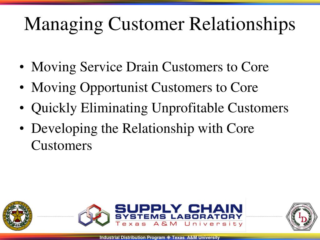 Moving Service Drain Customers to Core
