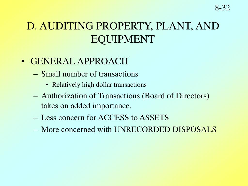 audit of property plant and equipment Pmr notes | htk consulting notes prepared by htk consulting | wwwhtkconsultingcom property, plant and equipment: ias 16 definition property, plant and equipment.
