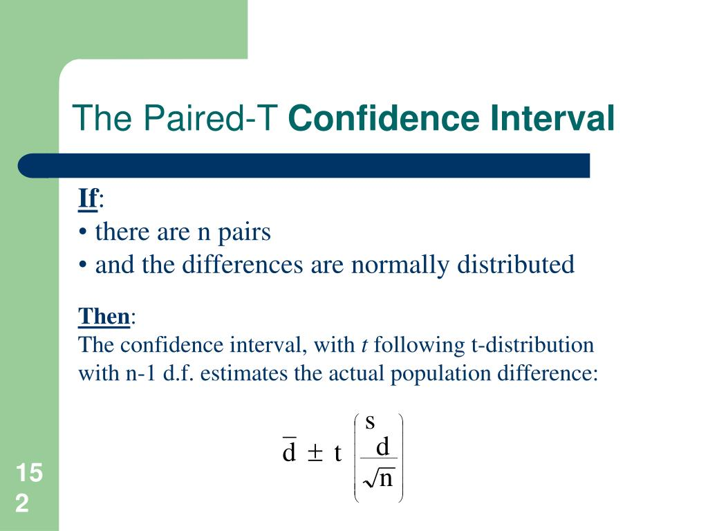 The Paired-T
