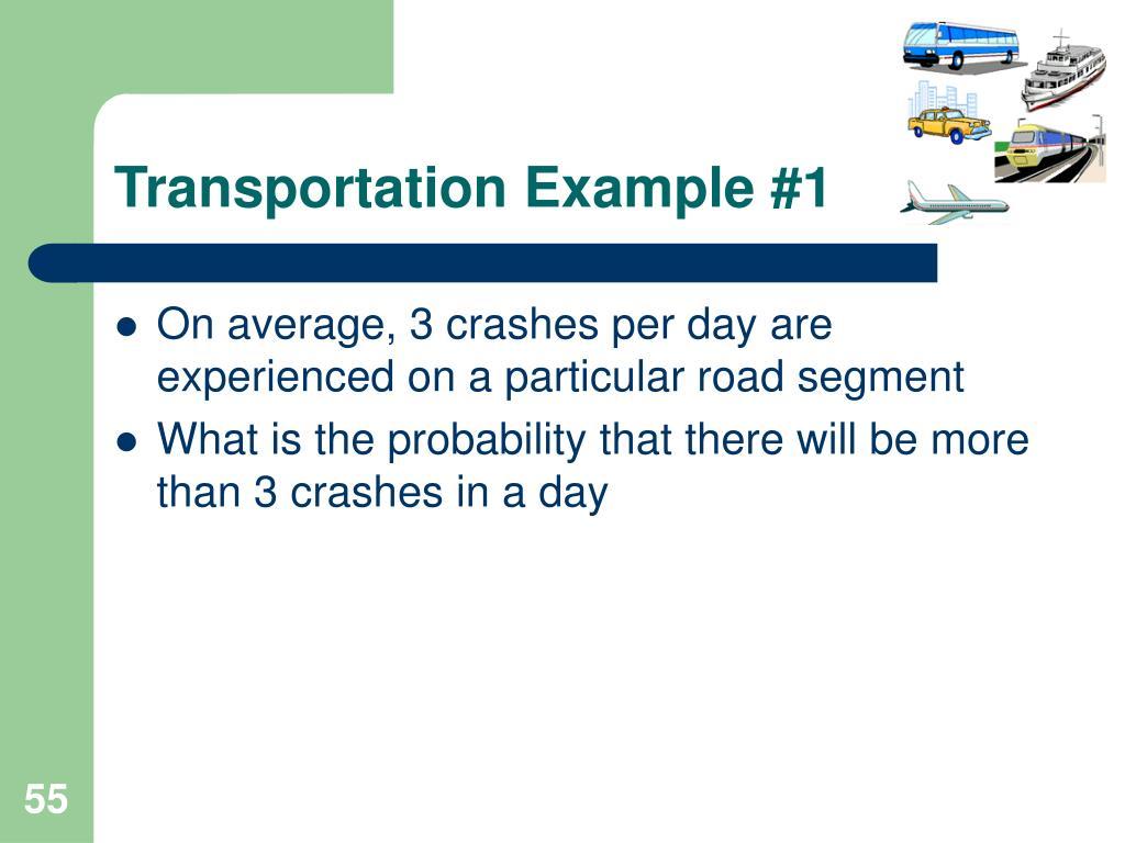 Transportation Example #1