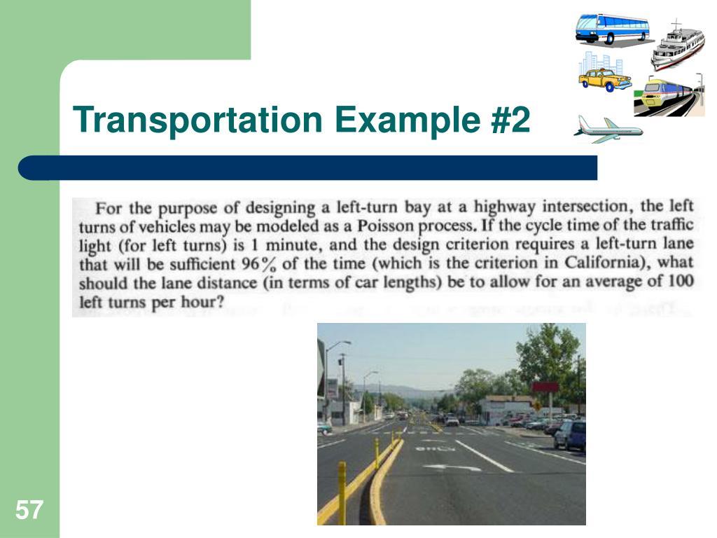 Transportation Example #2