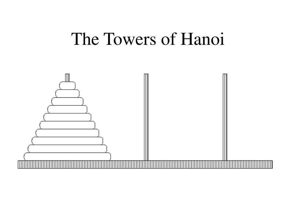 The Towers of Hanoi