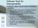 software tools for interoperability24