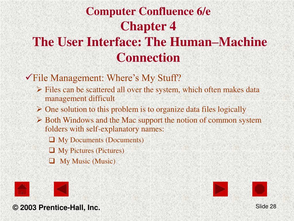 Computer Confluence 6/e