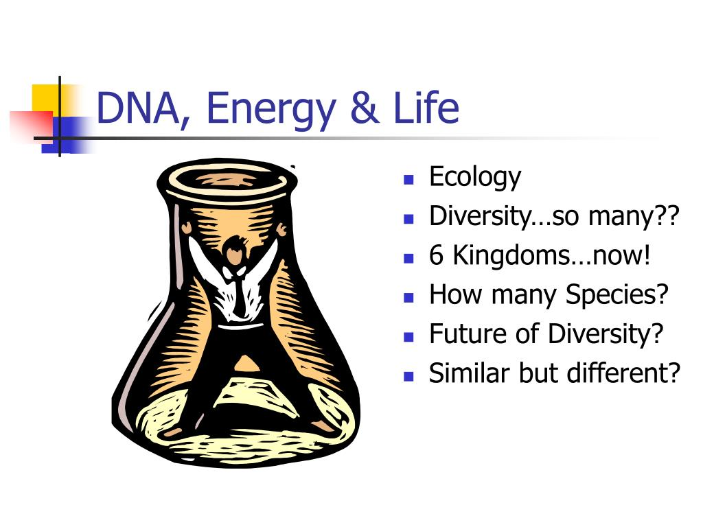 DNA, Energy & Life