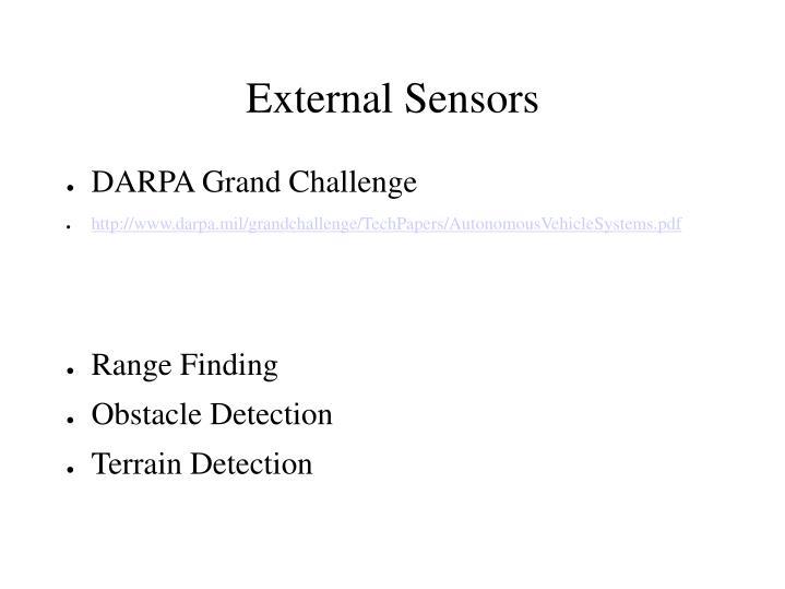 External Sensors