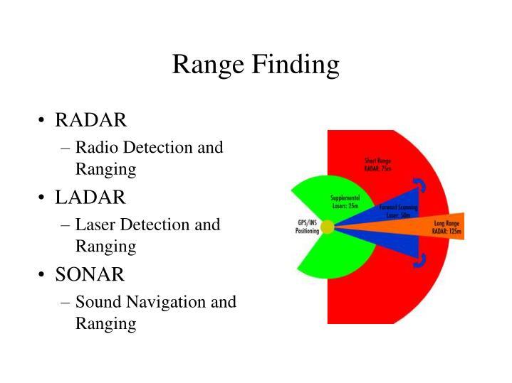Range Finding